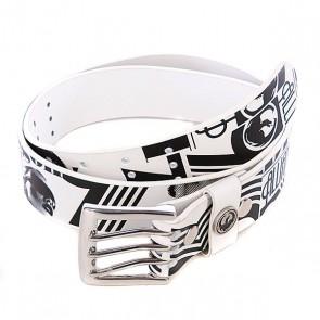 Ремень Dragon Future Fixx Belt White, 1062949,  Dragon, цвет белый, черный