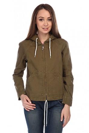 Куртка женская Roxy Fly Out J Jckt Military Olive, 1115649,  Roxy, цвет зеленый