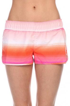 Шорты пляжные женские Roxy Roxy Love 2 J Ocean Breeze Orange, 1115658,  Roxy, цвет оранжевый, розовый