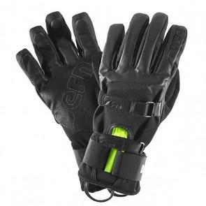 Перчатки сноубордические Bern Black Leather Gloves W Removable Wristguard Black, 1147866,  Bern, цвет черный