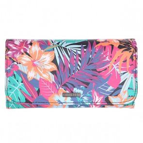 Кошелек женский Roxy My Long Eyes J Garden Party Wallet, 1122506,  Roxy, цвет мультиколор
