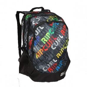 Рюкзак школьный Rip Curl Trischool Mamafont Black Tu, 1158496,  Rip Curl, цвет мультиколор, серый
