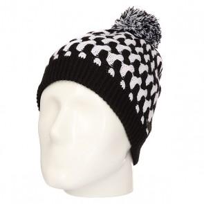 Шапка женская Rip Curl Waltari Jet Black, 1158511,  Rip Curl, цвет белый, черный
