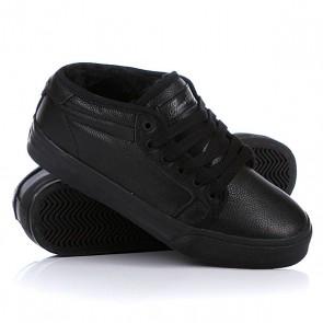 Кеды кроссовки утепленные Fallen Forte Mid Fur Black Ops/Shear, 1019924,  Fallen, цвет черный