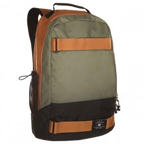 Рюкзак спортивный DC Grind Wheat, 1139779,  DC Shoes, цвет зеленый, коричневый, черный
