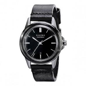 Часы Electric Carroway Leather All Black, 1115729,  Electric, цвет черный
