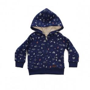 Толстовка утепленная детская Roxy Narua Little Forest Combo, 1158645,  Roxy, цвет синий