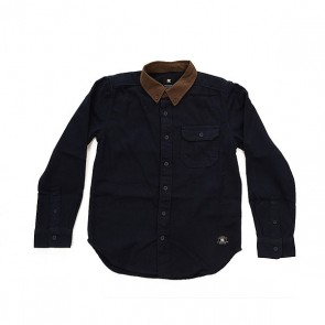 Рубашка детская DC Wallingstone Blue Iris, 1158646,  DC Shoes, цвет синий