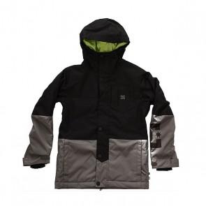 Куртка детская DC Defy Black, 1158661,  DC Shoes, цвет серый, черный