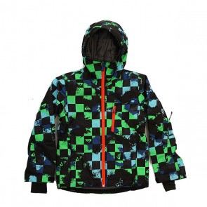 Куртка детская Quiksilver Mission Plus Waxdotcamo Check, 1158664,  Quiksilver, цвет мультиколор