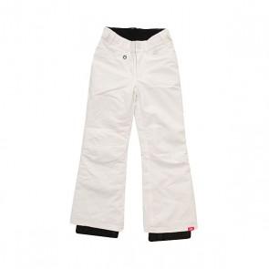 Штаны сноубордические детские Roxy Backyard Bright White, 1158677,  Roxy, цвет белый