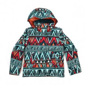 Куртка детская Roxy Rx Jet Kana Stripe Legion B, 1158684,  Roxy, цвет голубой, мультиколор