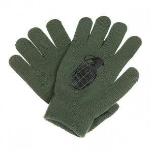 Перчатки Grenade Bomb Army/Black, 1107765,  Grenade, цвет зеленый