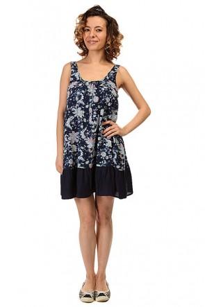 Платье женское Roxy Shadow Small Paisley Song C, 1146073,  Roxy, цвет синий