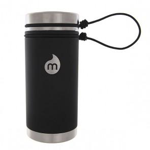 Термокружка Mizu V5 St Black Le Sst Lid N Rope Leash, 1146102,  Mizu, цвет черный