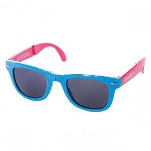Очки True Spin Folding Sunglasses Blue/Pink, 1064845,  TrueSpin, цвет голубой, розовый