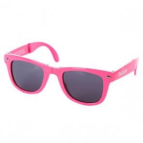 Очки True Spin Folding Sunglasses Pink, 1064854,  TrueSpin, цвет розовый