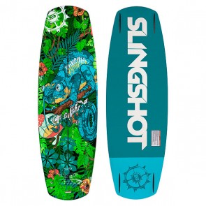 Вейкборд Slingshot Reflex 141, 1150360,  Slingshot, цвет зеленый, синий