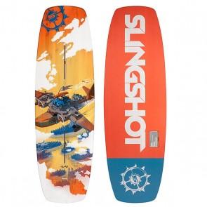 Вейкборд Slingshot Terrain 136, 1150363,  Slingshot, цвет мультиколор, оранжевый, синий