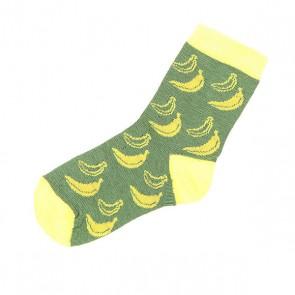 Носки средние детские Запорожец Банан Зеленый, 1152896,  Запорожец, цвет желтый, зеленый