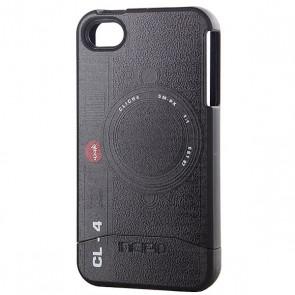 Чехол для Iphone Incipio Cliche Camera Edge Iphone 4 Incipio Case Black, 1096797,  Incipio, цвет черный