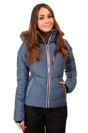 Куртка женская Roxy Snowstorm Jk Ensign Blue BIOTHERM, 1131795,  Roxy, цвет синий