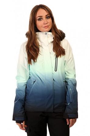 Куртка женская Roxy Jet Ski Prem Jk Gradient Print BIOTHERM, 1131803,  Roxy, цвет белый, синий