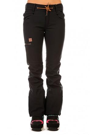 Штаны сноубордические женские DC Viva Se Pt J Snpt Anthracite, 1131813,  DC Shoes, цвет черный