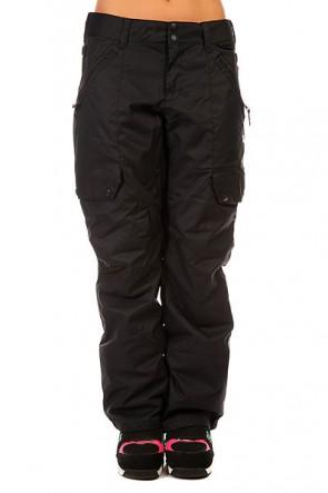 Штаны сноубордические женские DC Ace Pt J Snpt Anthracite, 1131817,  DC Shoes, цвет черный