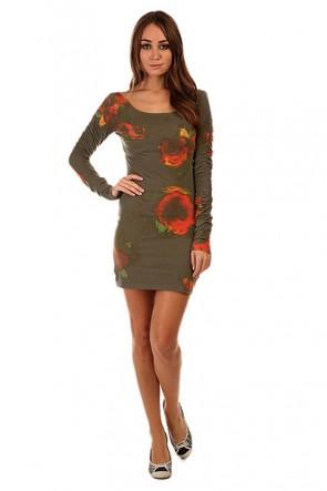 Платье женское Insight Axl Rose Dress Camo Green, 1131928,  Insight, цвет зеленый