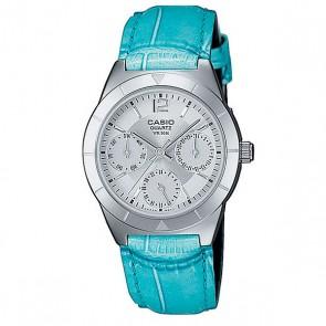 Часы женские Casio Collection Ltp-2069l-7a2 Silver/Blue, 1138189,  Casio, цвет голубой, серый