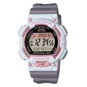 Часы женские Casio Collection Stl-s300h-4a Grey/White/Pink, 1138205,  Casio, цвет белый, розовый, серый