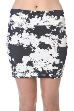 Юбка женская Billabong Smash Off Black, 1110676,  Billabong, цвет белый, черный