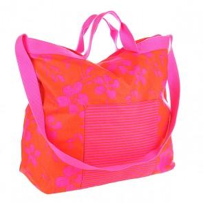 Сумка женская Roxy Sun Rays J Orange, 1113055,  Roxy, цвет оранжевый, розовый