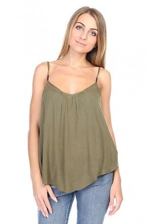 Топ женский Roxy Sand Dune J Military Olive, 1113073,  Roxy, цвет зеленый