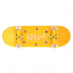 Фингерборд женский Turbo-FB Swarowski Design Crystals True Yellow/Clear, 1146237,  Turbo-FB, цвет желтый