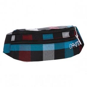 Сумка поясная женская Dakine Womens Classic Hip Pack Highland, 1092658,  Dakine, цвет белый, голубой, черный
