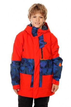 Куртка детская Quiksilver York Yth Jkt Poinciana, 1128597,  Quiksilver, цвет оранжевый, синий