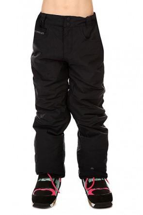 Штаны сноубордические детские Quiksilver State Black, 1128630,  Quiksilver, цвет черный