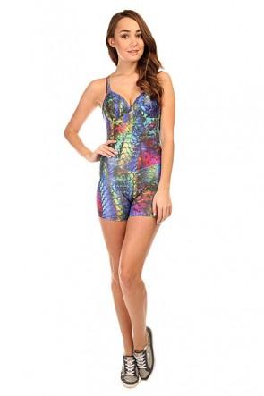Комбинезон для фитнеса женский CajuBrasil Sirк Overall Multi, 1135310,  CajuBrasil, цвет мультиколор