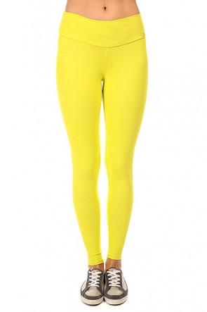 Леггинсы женские CajuBrasil New Zealand Legging Yellow, 1135343,  CajuBrasil, цвет желтый