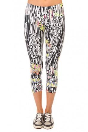 Леггинсы женские CajuBrasil New Zealand Legging Multi, 1135347,  CajuBrasil, цвет белый, мультиколор, черный