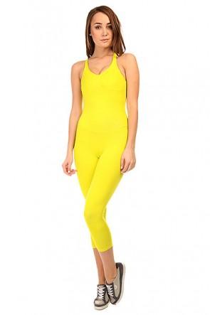 Комбинезон для фитнеса женский CajuBrasil New Zealand Overall Yellow, 1135365,  CajuBrasil, цвет желтый