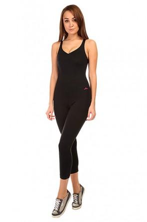 Комбинезон для фитнеса женский CajuBrasil New Zealand Anback Overall Black, 1135366,  CajuBrasil, цвет черный