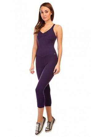 Комбинезон для фитнеса женский CajuBrasil New Zealand Anback Overall Purple, 1135367,  CajuBrasil, цвет фиолетовый