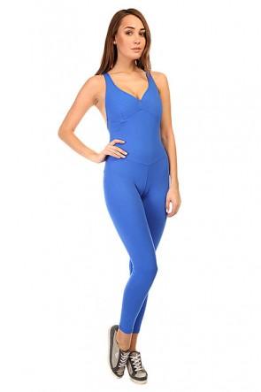 Комбинезон для фитнеса женский CajuBrasil New Zealand Overall Blue, 1135368,  CajuBrasil, цвет синий