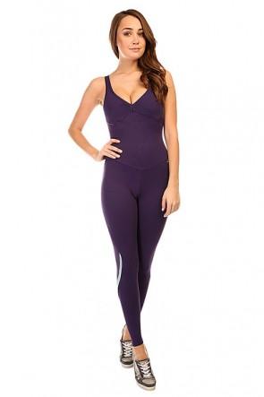 Комбинезон для фитнеса женский CajuBrasil New Zealand Overall Purple, 1135395,  CajuBrasil, цвет фиолетовый