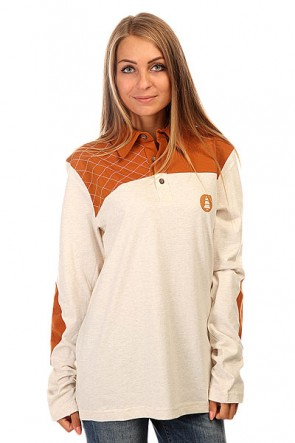 Поло женское Picture Organic Ideal Beige, 1139864,  Picture Organic, цвет бежевый, коричневый