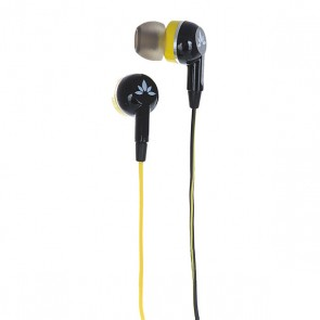 Наушники вкладыши Avantree Стерео Adhf-645 Black/Yellow, 1143278,  Avantree, цвет желтый, черный