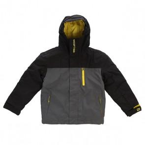 Куртка детская Billabong Legend Boys Plain Black, 1138483,  Billabong, цвет серый, черный